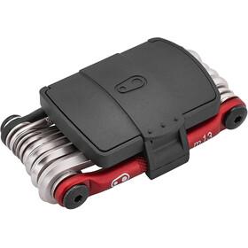 Crankbrothers Multi-13 Multitool, czarny/czerwony